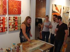 We will have nationally renowned artist Maeve Harris painting live at this year's Block Party!