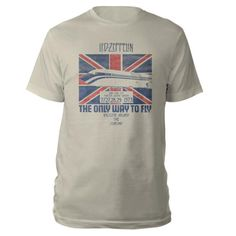 f187b8fc Check out Led Zeppelin The Only Way To Fly Heather Grey T-Shirt on @