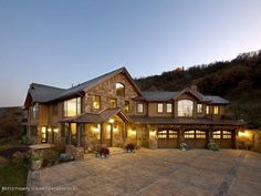 178 Aspen Oaks - Listing # 125904 - Price: $9,350,000 - The abundance of light & views, seamless flow, perfect proportions & soothing interior palate distinguishes this home. The timeless character of the design and exceptional finishes are evident throughout this spacious 7,007 sf custom built mountain style/Tuscan-finished home. Perched on 5 acres, north & east/town views, 1 mile to Aspen city limits. Centrally located to skiing, tennis, golf, Aspen & Snowmass.