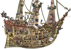 Old Pirate Ship by ~mourri on deviantART