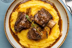 Braised Short Ribs, Beef Short Ribs, Braised Beef, Master Chef, Slow Cooker Recipes, Crockpot Recipes, Rib Recipes, Cooking Recipes, Gastronomia