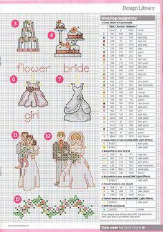 Журналы вышивки крестом свадьба