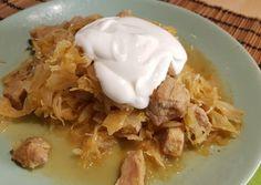 Székelykáposzta | Eleonor receptje - Cookpad receptek Pork, Keto, Breakfast, Kale Stir Fry, Morning Coffee, Pork Chops
