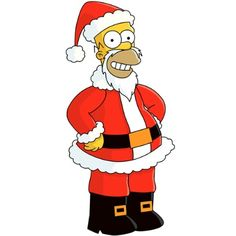 The Simpsons│ Los Simpson - - - - - - Simpsons Toys, The Simpsons Movie, Simpsons Characters, Christmas Drawing, Christmas Art, Christmas Shirts, Christmas Cartoons, Christmas Characters, Homer Simpson