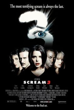 Scream 3 (2000) While Sidney and her friends visit the Hollywood set of Stab 3, the third film based on the Woodsboro murders, a new Ghostface begins to terrorize them once again.
