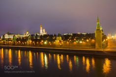 Night Moscow by anisimovis