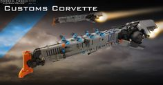 ULTARAN CUSTOMS OFFICER CORVETTE | Flickr - Photo Sharing!