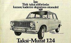 Taksi - Murat 124 Reklamı #istanlook #nostalji #birzamanlar