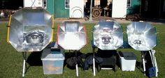 All Season Solar Cooker - Solar Cooking Solar Oven Diy, Diy Solar, Survival Food, Survival Skills, Food Dryer, Solar Cooker, Disaster Preparedness, Alternative Energy, Natural Disasters