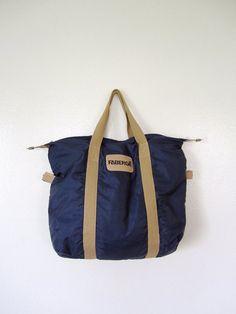 SALE Vintage Bag   70 s Gym tote   Fashion accessories e7f2526839a1e
