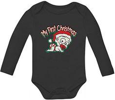 My First Christmas Baby Long Sleeve Onesie 0 - 3 months Black TeeStars http://www.amazon.com/dp/B00NTX447U/ref=cm_sw_r_pi_dp_unVoub091TBC6