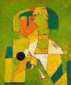 V. S. Gaitonde | Untitled (1955) | Artsy