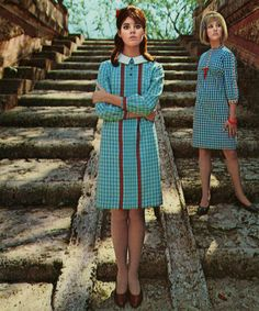 Colleen Corby for Dacron Fabrics, 1966.