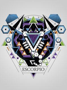 diseño del signo de escorpio https://www.behance.net/gallery/16305455/ZODIACO-(ZODIAC)