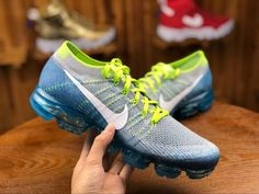 66af3fdb0a3 Top Quality Nike Air VaporMax Sprite Wolf Grey Blue 849558 022 Mens Running  Shoes Summer Trainers