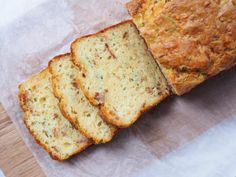 Bacon, Cheese and Zucchini Bread