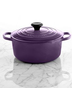 Le Creuset Signature Enameled Cast Iron French Oven, 4.5 Qt. Round - Cookware - Kitchen - Macy's