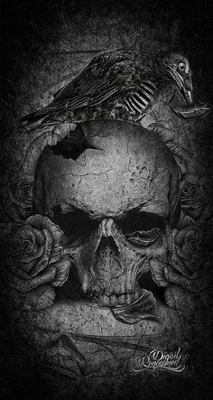 """LOVE SKULLS GROOM"" by Digoil En-riquez."