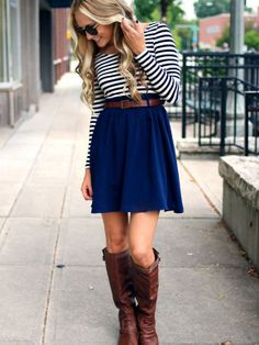 Fashion Fix: blauw rokje