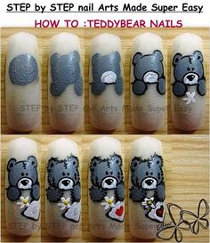 STEP by STEP : Nail Arts Made Ѕυper EaЅy εїз