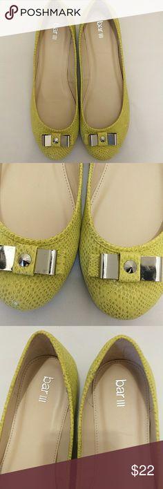 NWOTBar lll flats New color light green, very soft Bar III Shoes Flats & Loafers