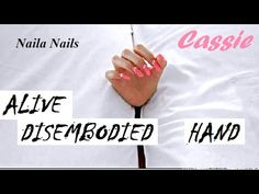 A bed for Cassie - (hand movements) - DISEMBODIED HANDS