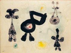 Joan Miró – Homem, Mulher, Pássaro – 1959