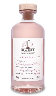 Holyrood Distillery - The Gin Cooperative Bottle Packaging, Brand Packaging, Gin Recipes, Cocktail Recipes, Scottish Gin, Gin Brands, Alcohol, Liquor Bottles, Gin And Tonic