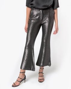 Clove Trouser in Silver