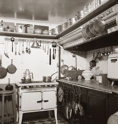 Julia Child's Rue de Loo kitchen  in Paris  Photograph by Paul Childs
