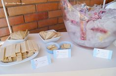 lots of ice cream for this ice-cream themed baby shower