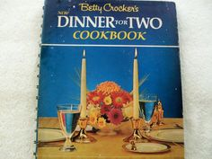 Betty Crocker's Dinner for 2 1971 HC Spiral (5514-789)