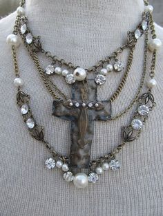 Obviously, instead of a cross, I could cut a hamsa or magen david from sheets of precious metal