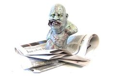 Zombie Paper Weight
