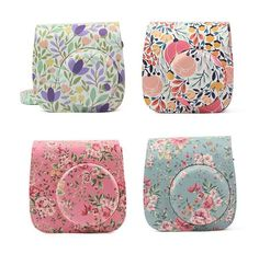 Find More Camera/Video Bags Information about Fujifilm Instax Mini 8 8+ 9 Camera Accessories Flowers PU Leather Instant Camera Shoulder Bag Protector Cover Case Pouch,High Quality camera shoulder bag,China fujifilm instax mini 8 Suppliers, Cheap instax mini 8 from Photography store on Aliexpress.com