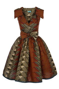 Image of Lab Shirt Dress (Matric Print) Beautiful african fashion ~DK African Inspired Fashion, African Print Fashion, Africa Fashion, Fashion Prints, Fashion Design, Fashion Ideas, Ghana Fashion, Tribal Fashion, Fashion Outfits