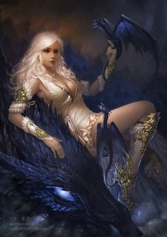 Fantasy art from many different artist. Elves, dragon, and fairy's Oh My. Angels, unicorn and. Fantasy Girl, Chica Fantasy, 3d Fantasy, Fantasy Kunst, Fantasy Artwork, Dark Fantasy, Fantasy Creatures, Mythical Creatures, Fantasy Characters