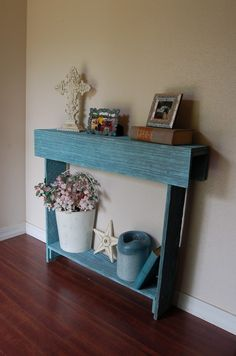 Console Table. Entry Table. Comes In Diferent Colors. Blue Ocean Cedar Skinny…