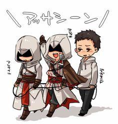 Assassin's Creed. So kawaii!!!