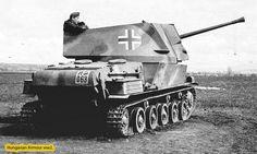 """Nimrod"" Hungarian Tank Destroyer and Anti-Aircraft Gun ,WW II German Soldiers Ww2, German Army, War Thunder, Tank Destroyer, World Of Tanks, Ww2 Tanks, Military Equipment, Panzer, Armored Vehicles"