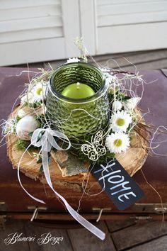 """Deko-Objekte - :::: Tischdeko """" HOME """" :::: - ein Designerstück von BlumereiBerger bei DaWanda"""