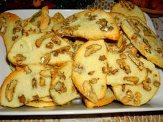 Sucharky s ořechy Czech Recipes, International Recipes, Sweet Recipes, Ham, Paleo, Food And Drink, Sweets, Cookies, Baking