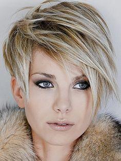 Short hair - this is a great cut!