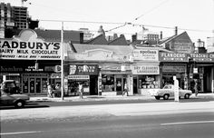 Spencer Street East between Little Collins and Collins Streets, Melbourne 1967