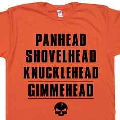 T Shirt Knucklehead Motorcycle c7498cf2c6