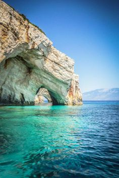 The Blue Caves - Cape Skinari, Zakynthos, Greece