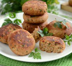 Gotuj z Cukiereczkiem: Kotleciki porosołowe z cieciorką