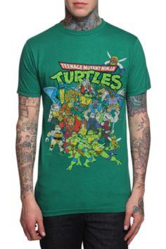 Teenage Mutant Ninja Turtles Epic Group T-Shirt