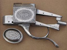 Martini Gunmakers - Custom Craftsmanship-Warren Smith engraver