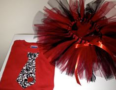 Valentine Tutu and shirt sooo cute!!
